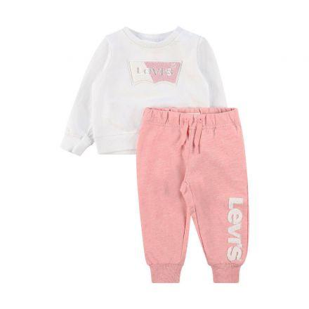 חליפת  LEVIS לוגו פרווה לתינוקות