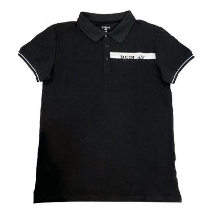 חולצה REPLAY לילדים REPLAY בצד