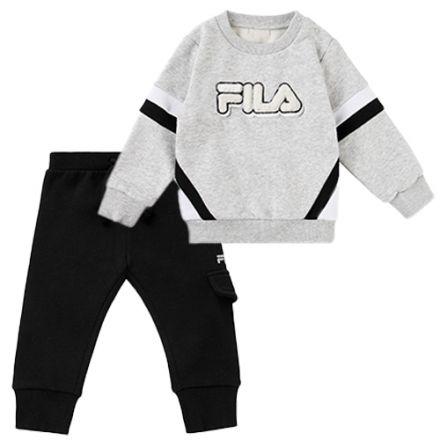 חליפת FILA לתינוקות לוגו פרווה