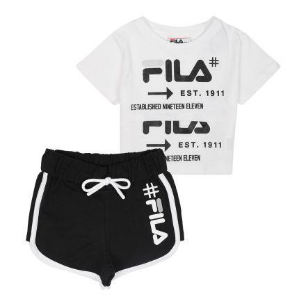 חלפית FILA לילדות לוגו שחור