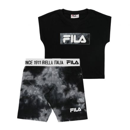 חליפת FILA לילדות לוגו באמצע