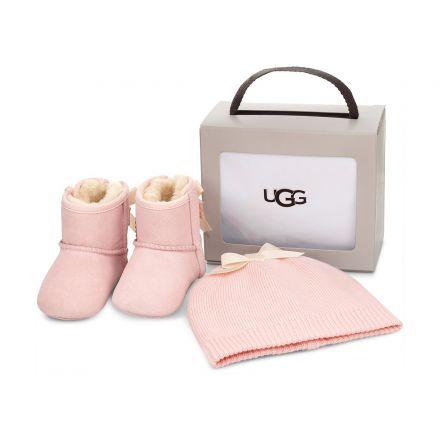 מארז NB UGG JESSE BOW מגפיים וכובע לתינוקות