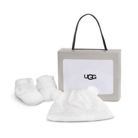 מארז NB UGG BIXBEE מגפיים וכובע לתינוקות
