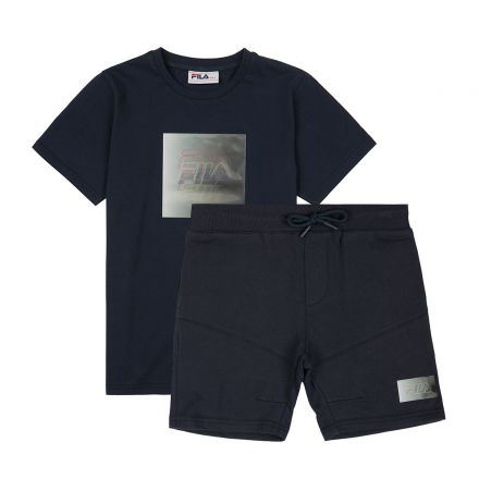 חליפה קצרה FILA לתינוקות לוגו מותג