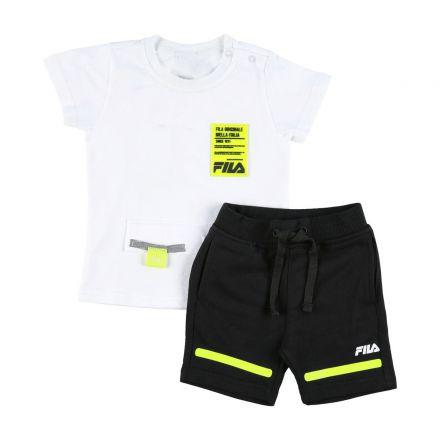 חליפה קצרה FILA לתינוקות ריצ'רץ חולצה