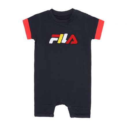 אוברול ארוך FILA לתינוקות לוגו פרווה