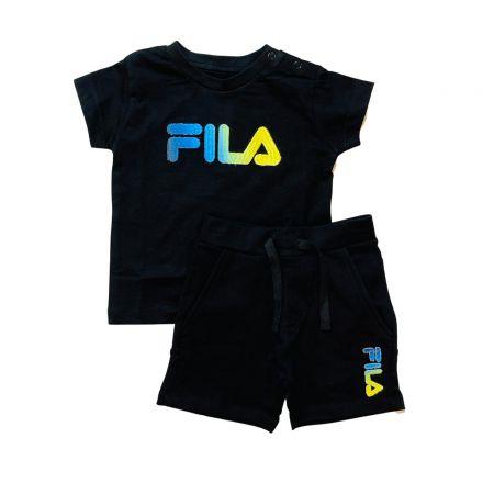 חליפת FILA לתינוקות לוגו צבעוני