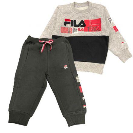 חליפת FILA לוגו  מותג לתינוקות