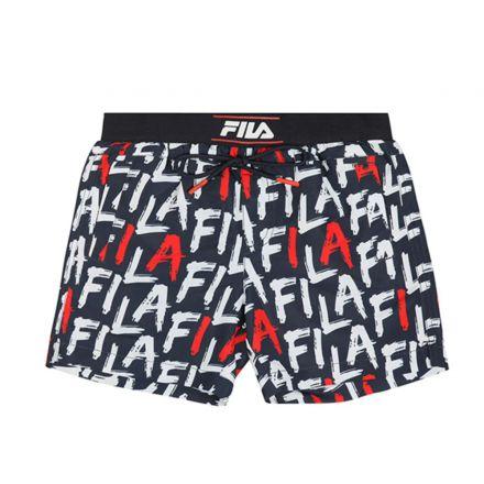 מכנסיים קצרים FILA לילדים לוגו אול אובר