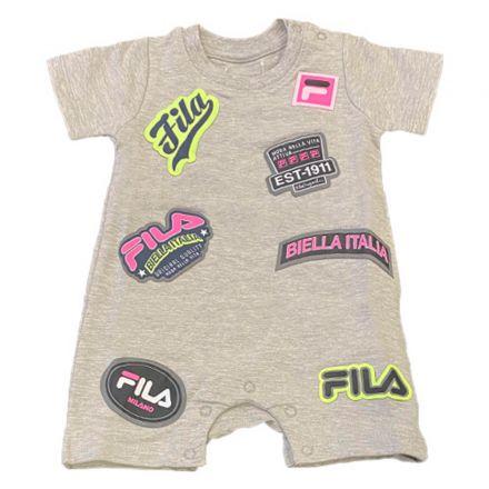 אוברול FILA לתינוקות סמלים