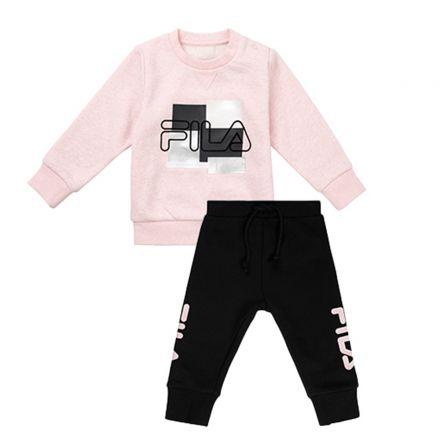 חליפת FILA לתינוקות לוגו מבריק