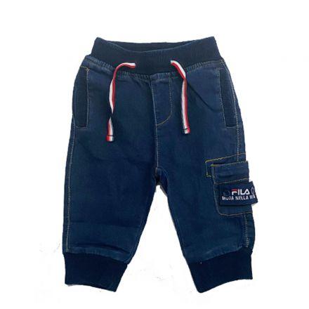 ג'ינס FILA לתינוקות גומי