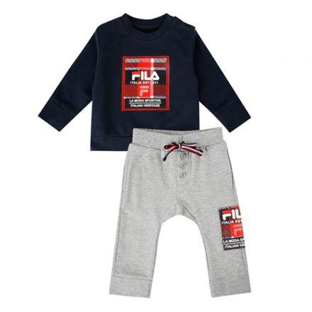חליפת FILA לתינוקות ריבועים