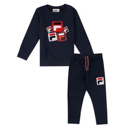 חליפת FILA לתינוקות ריבועים פרווה