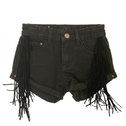 ג'ינס ORO לילדות שורט פרנזים