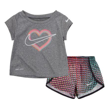 חליפת טריקו NIKE לתינוקות לוגו לב