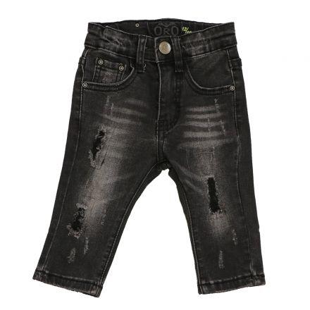 ג'ינס ORO לתינוקות שטיפה פאטצ