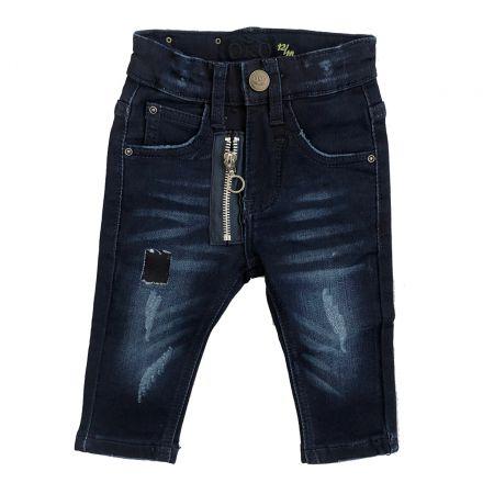 ג'ינסים ORO לילדים פאטצ זיפר