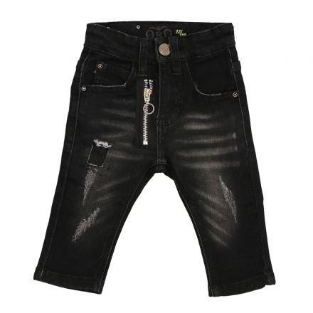 ג'ינסים ORO לתינוקות פאטצ זיפר