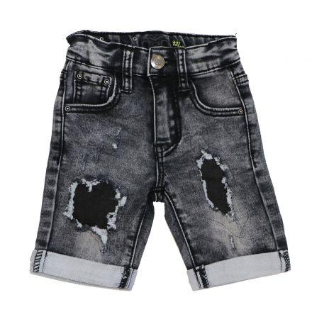 ג'ינס ORO לילדים ברמודה פאטצ
