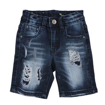 ג'ינס ORO לתינוקות ברמודה פאצ ללא קיפול
