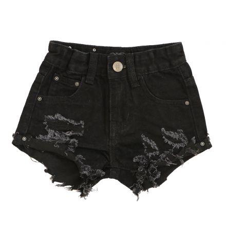 שורט ג'ינס ORO לילדות פאטצ