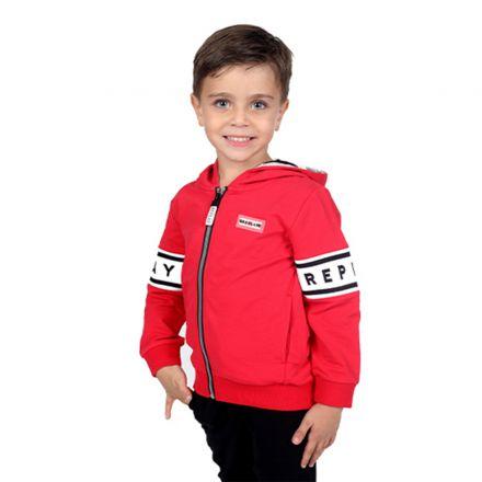 חליפת REPLAY לילדים לוגו לרוחב