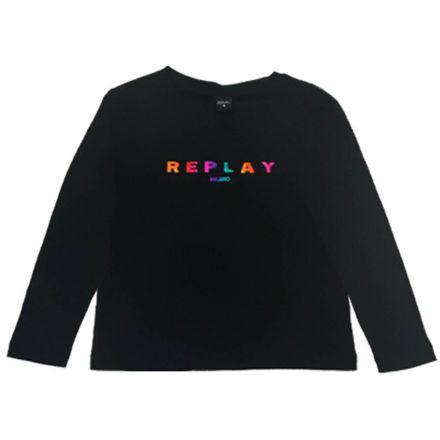 חולצת REPLAY לילדות נצנצים