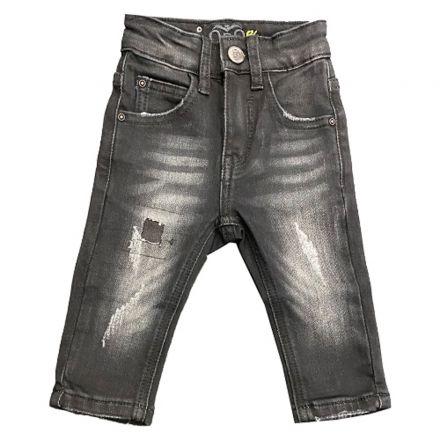 מכנס ORO לילדים ג'ינס פאטצ