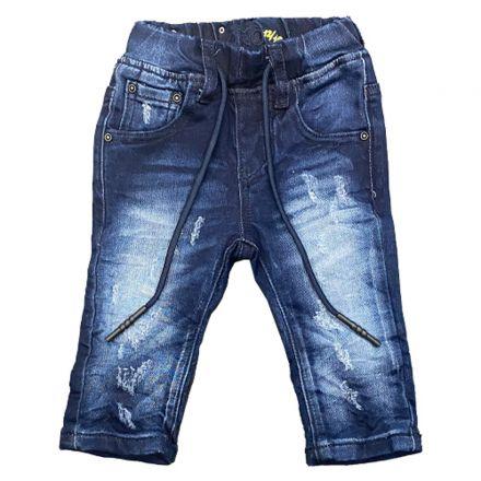 מכנס ORO לתינוקות ג'ינס שרוכים