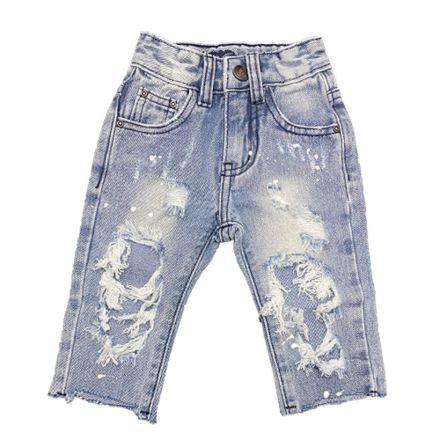 מכנס ORO יוניסקס ג'ינס קרעים