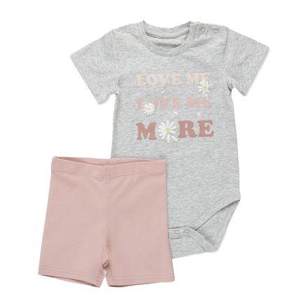 סט בגד גוף וטייץMINENE לתינוקות