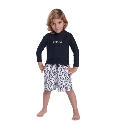 חולצת ים אנטי סאן REPLAY לילדים