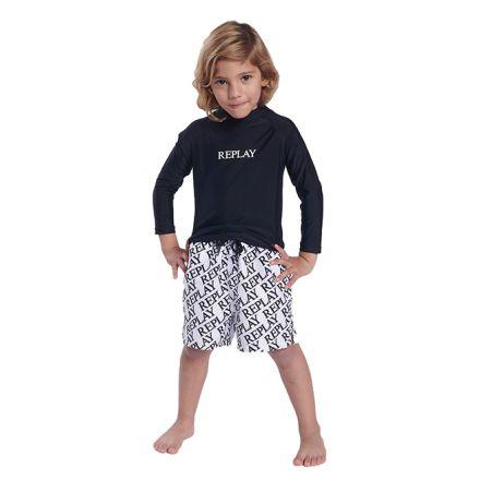 מכנס בגד ים REPLAY לילדים