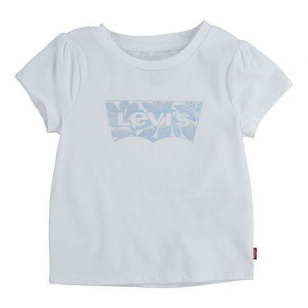 חולצת LEVIS לילדות לוגו כסוף