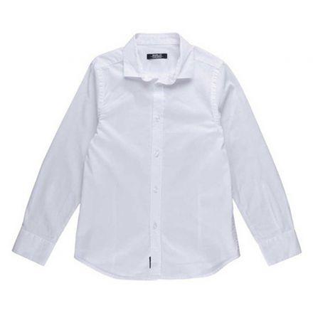 חולצת REPLAY לילדים צווארון רגיל לבן