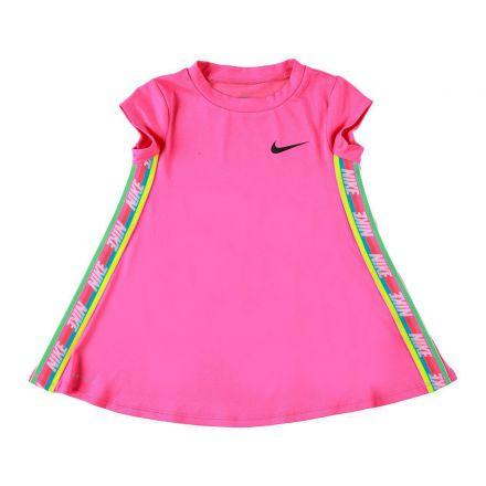 שמלת NIKE לוגו מותג בצד לילדות
