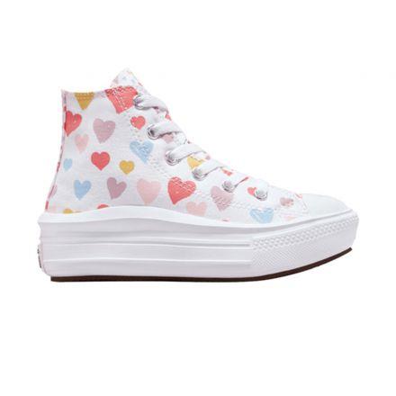 נעלי CONVERSE ALL STAR MOVE HEARTS לילדות