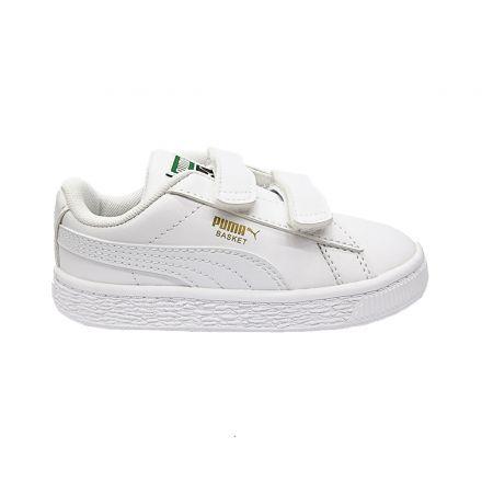 נעלי PUMA לילדים Basket סגירת סקוץ' כפול