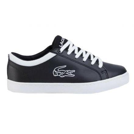 נעלי LACOSTE לילדים שחור לבן