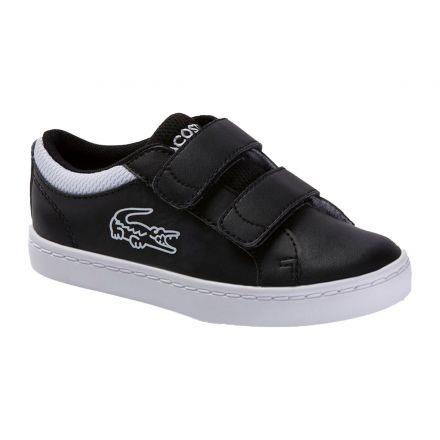 נעלי LACOSTE לתינוקות שחור לבן