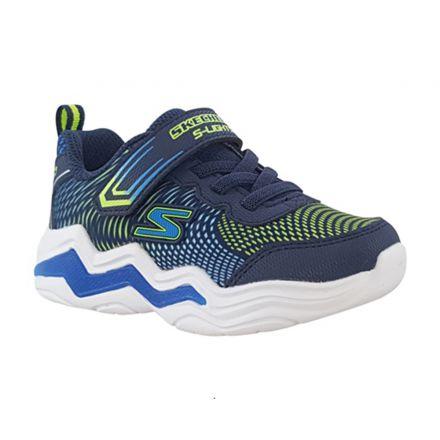 נעלי SKECHERS עם רצועת סקוץ' ואורות מהבהבים