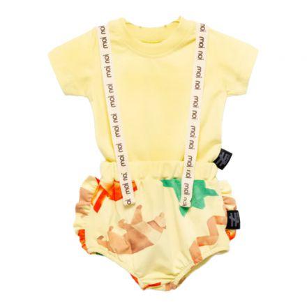 בגד גוף שלייקס MOI NOI לתינוקות