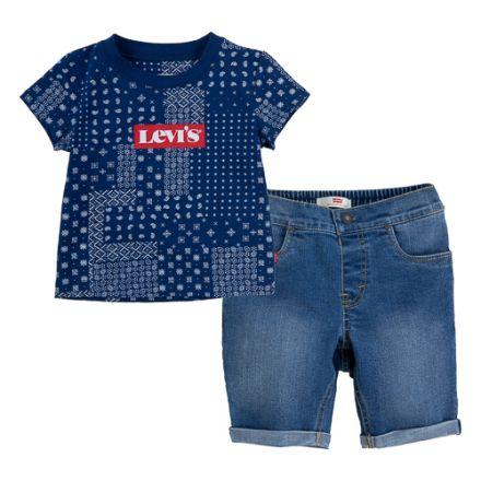 חליפת LEVIS לילדים כחול