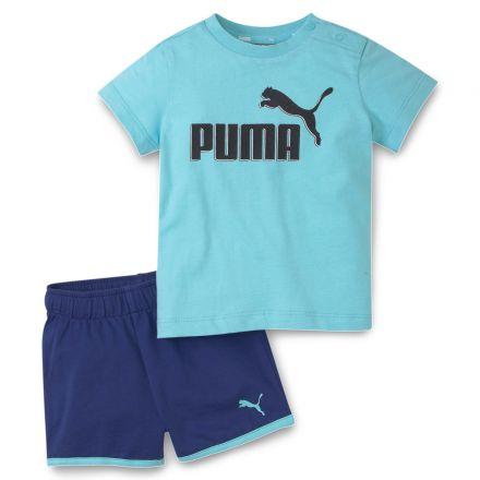 חליפת PUMA לתינוקות כחול Minicats Set