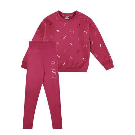 חליפת PUMA CLASSICS GRAPHIC AOP לילדות