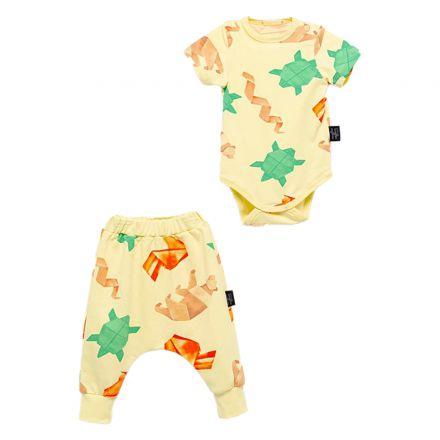 חליפת בגד גוף MOI NOI לתינוקות