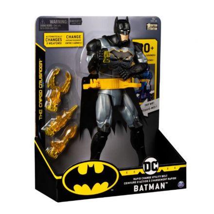 בובת באטמן עם חגורת השירות המהירה לשינוי ׁ(גילאים 4+)