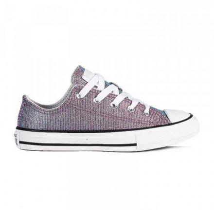 נעלי CONVERSE לילדות סגול אולטרה