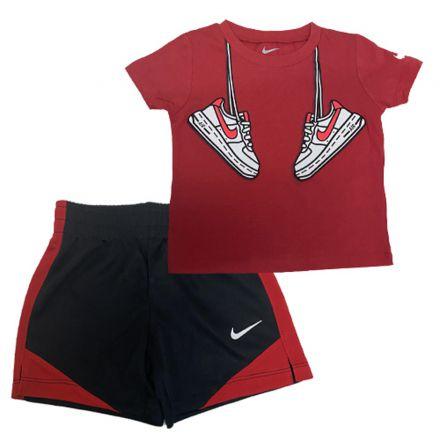 חליפה NIKE לילדים אדום